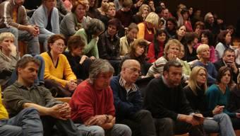 Da waren es noch viele: Lehrer an einer Veranstaltung in Rheinfelden – bald werden sich die Reihen lichten. juk/Archiv