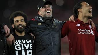 «Niemals aufgeben!» – Liverpool erlebt ohne den verletzten Mohamed Salah eine magische Fussballnacht.