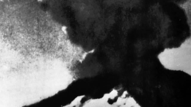 Ausbruch des Puyehue im Jahr 1960