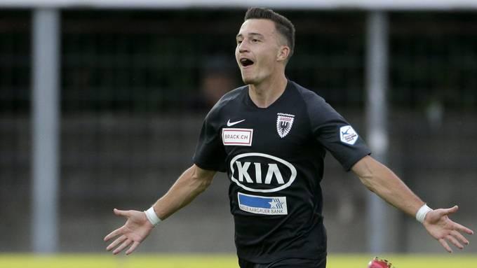 Liridon Balaj erzielte in der vergangenen Saison acht Treffer.