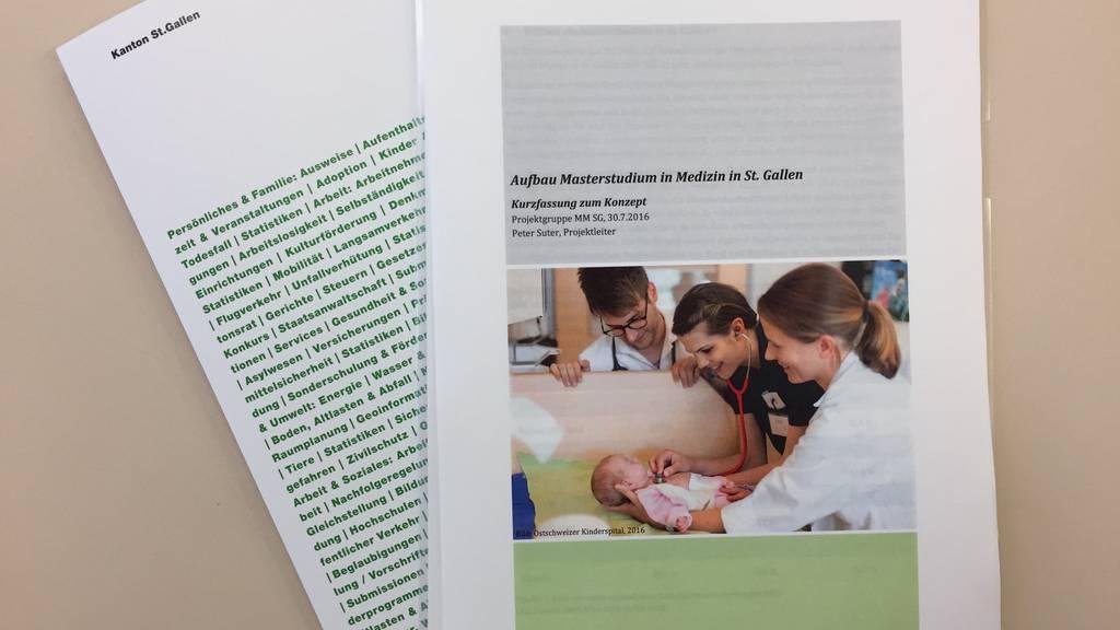 86 interessierte Maturandinnen und Maturanden haben sich für ein Medizinstusium mit Bezug zu St.Gallen entschieden.