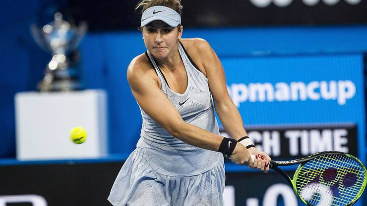 Gewann die Kooyong Classic in Melbourne: Belinda Bencic (Archivbild)