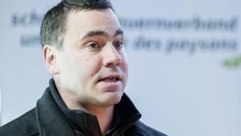 Der Direktor des Schweizer Bauernverbandes, Martin Rufer, setzt in Zeiten der Coronavirus-Pandemie wieder verstärkt auf die Bedeutung der Selbstversorgung des Landes. (Archivbild)