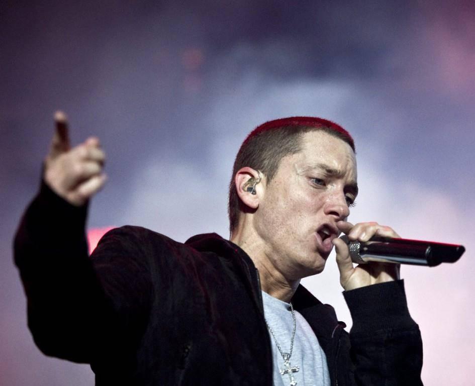 Eminem am Openair Frauenfeld 2010 (© Tagblatt/Stefan Schaufelberger)