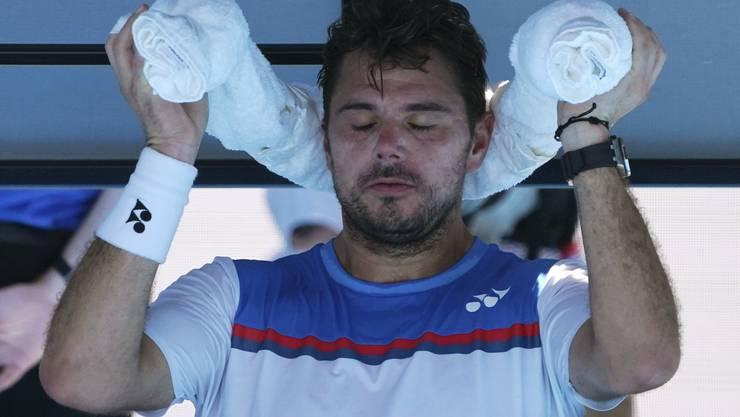 Scheitert an den Australian Open an Alexander Zverev: Stan Wawrinka.