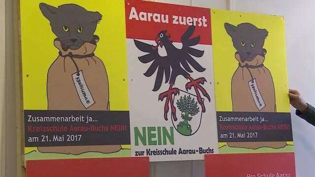 Kreisschule Aarau-Buchs: 10 Mio. Sparpotenzial