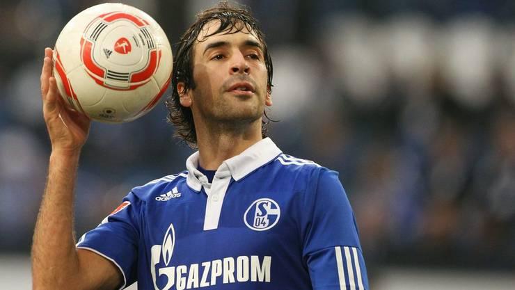Raul schoss im Pokal-Halbfinal den entscheidenden Treffer gegen München.