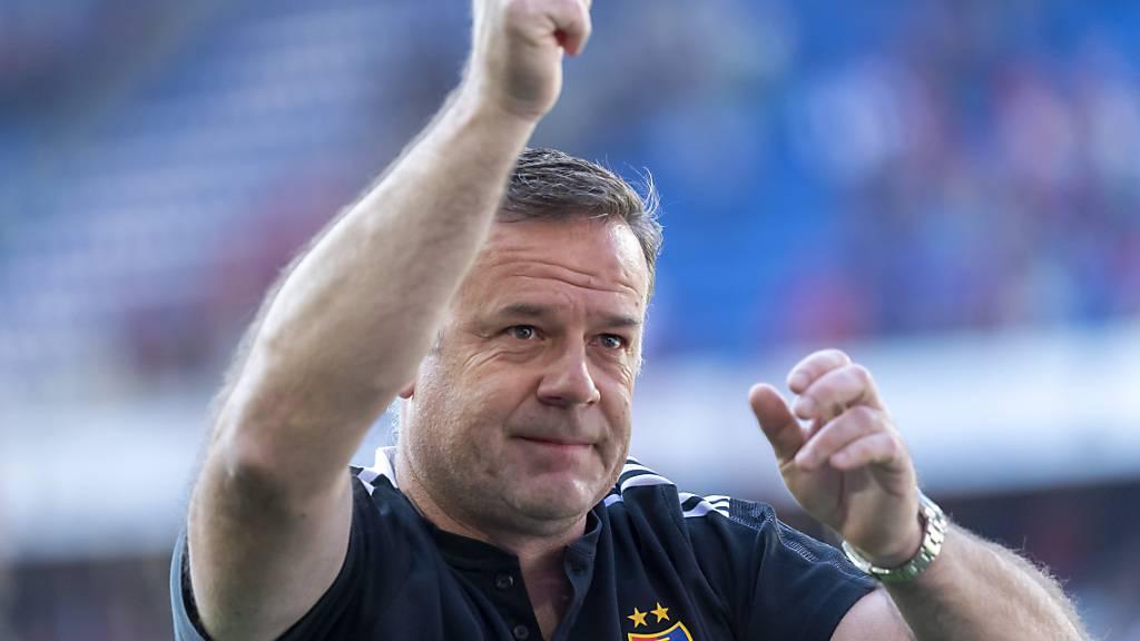 Cheftrainer Patrick Rahmen erlebt mit dem FC Basel einen Höhenflug