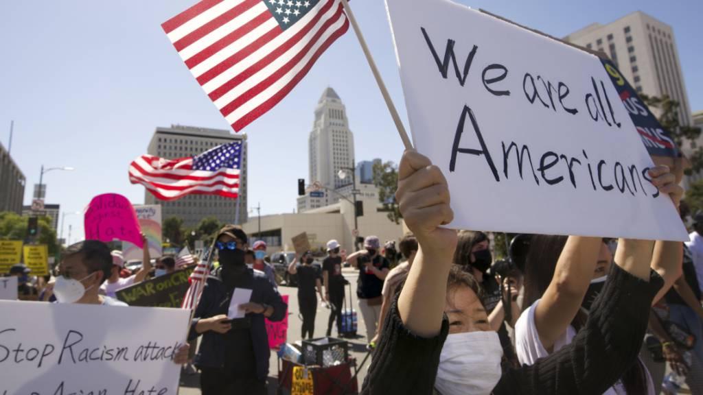 US-Kongress verabschiedet Gesetz gegen anti-asiatische Hassverbrechen