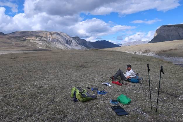 Impressionen von Brooks Range: Manuel Meier aus Schinznach-Dorf und Lukas Mathis aus Unterendingen traversierten eine Bergkette in Alaska.