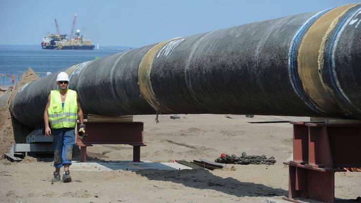 Die Gasleitung verläuft unter der Adria (Symbolbild)