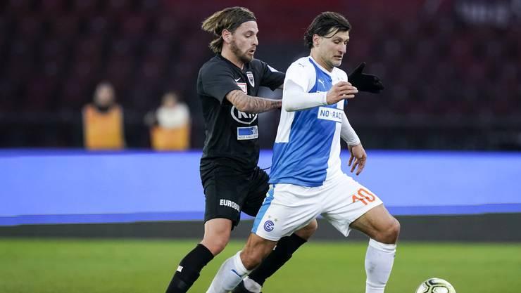GC läutet gegen den FC Aarau den Restart der Schweizer Fussball-Ligen ein.