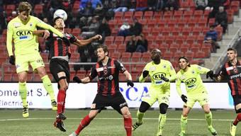Ein spannendes Spiel zwischen dem FC Aarau und Neuchâtel Xamax.