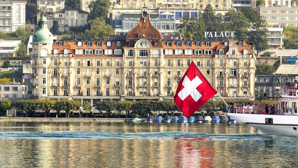 Das Hotel Palace in Luzern