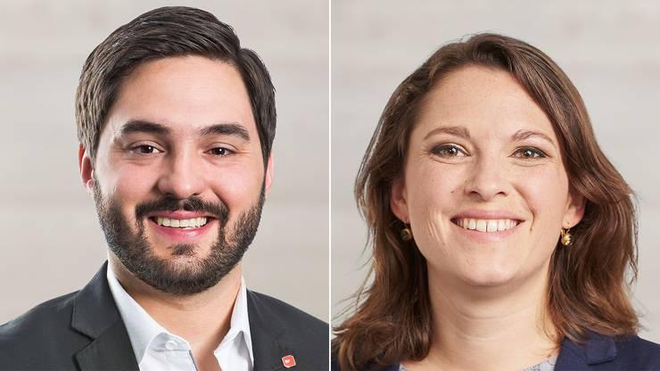 Cédric Wermuth und Mattea Meyer wollen als Doppelspitze das Parteipräsidium der SP übernehmen.