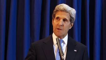 Erfolg verbucht: US-Aussenminister John Kerry in Jordanien