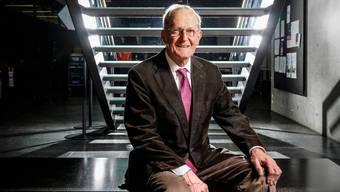 Der ehemalige Bundesrat Joseph Deiss wirbt für den EU-Beitritt der Schweiz, weil dieser die Souveränität der Schweiz stärke. (Nicolas Righetti / Lundi13)