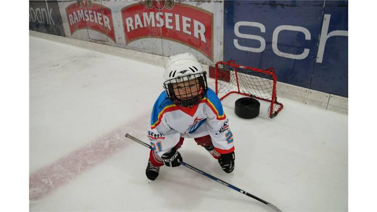 Impressionen vom Swiss Ice Hockey Day in Zuchwil mit Nationaltrainer Sean Simpson als Stargast.