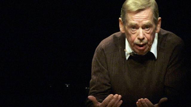 Der ehemalige tschechische Präsident Vaclav Havel (Archiv)