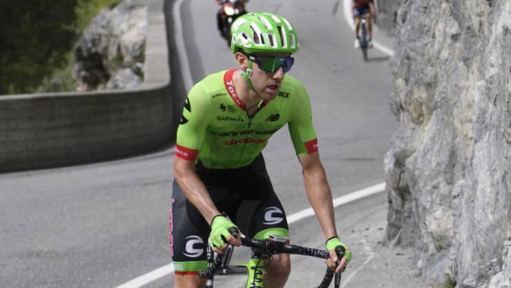 Der Kanadier Michael Woods gewann die 17. Etappe der 73. Spanien-Rundfahrt und feierte damit den grössten Erfolg seiner Karriere
