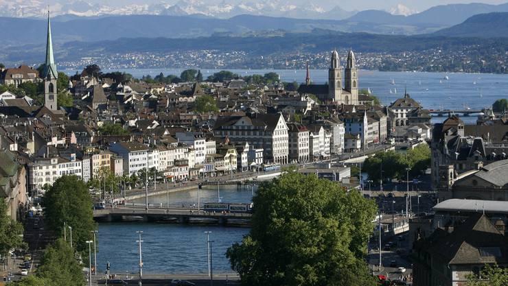 Zürich ist gemäss der Studie die nachhaltigste Stadt der Welt. (Archivbild)