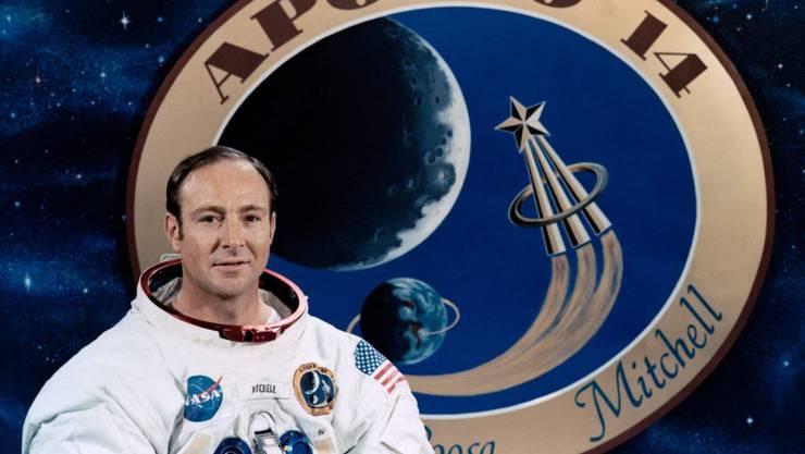 War 1971 auf dem Mond: Astronaut Edgar Mitchell 85-jährig verstorben. (Archiv)