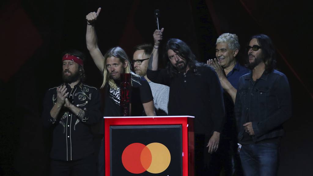 Foo Fighters Brit Awards