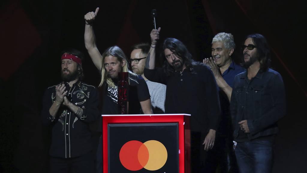 Ein gutes Jahr für die Foo Fighters