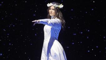 Sie bringt den Glamour der Wiener Staatsoper (hier in «Lucia di Lammermoor») in den Schlosspark Binningen Olga Peretyatko.