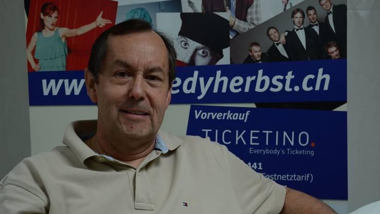 OK-Präsident Philipp Locher und die Vereinigung Pro Schlieren ziehen grosse Namen an den Comédy-Herbst.