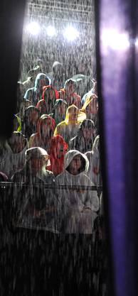 Dunnerwätter im Regen Waldenburg!