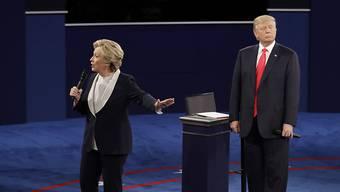 Hillary Clinton machte laut einer Mehrheit das bessere Bild in der jüngsten TV-Debatte mit Donald Trump.