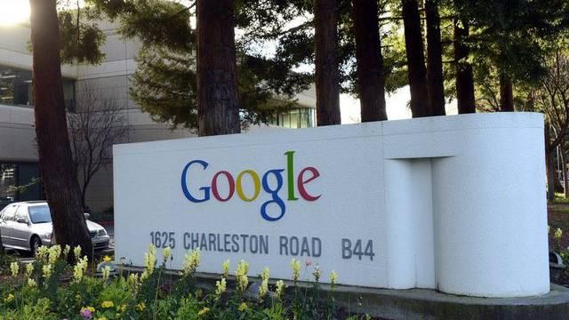 Eingang zum Google-Hauptsitz im kalifornischen Mountain View (Archiv)