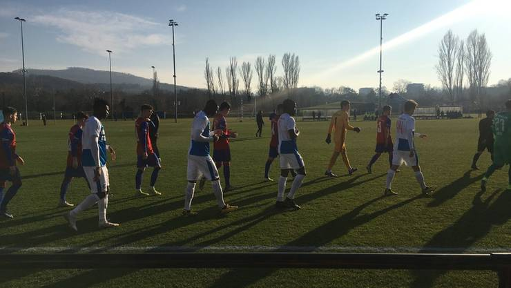 Der FCB testet mit seiner U21 gegen GC.