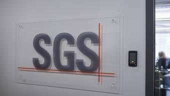 SGS steigert Gewinn bei sinkendem Umsatz. (Archivbild)