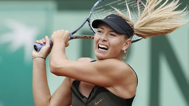 Scharapowa darf weiterhin auf ersten Titel in Roland Garros hoffen.