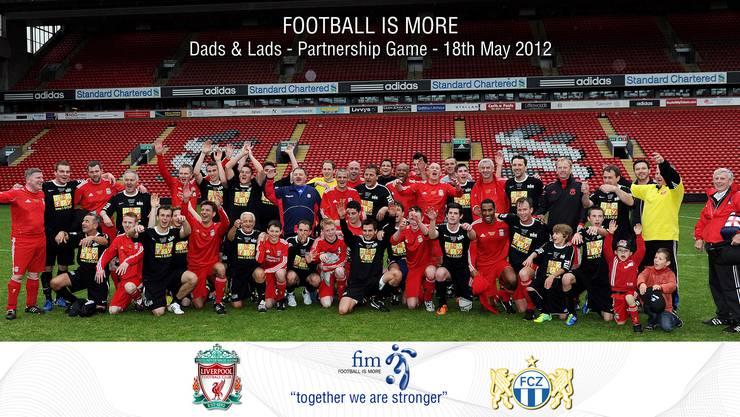 Altstars von FCZ und Liverpool mit Söhnen im Letzigrund