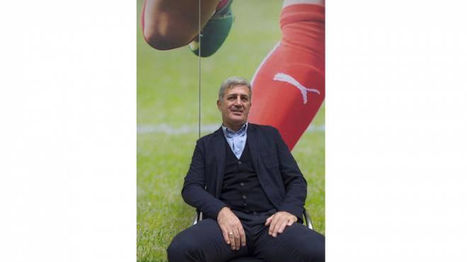 Trainer Vladimir Petkovic ist mit der Entwicklung der Schweizer Nationlmanschaft zufrieden. Foto: Urs Lindt/freshfocus