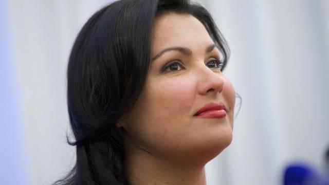 Die russische Star-Sopranistin Anna Netrebko (Archivbild)