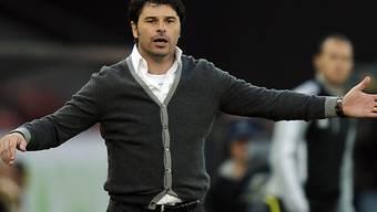 GC-Trainer Ciriaco Sforza verbucht gegen YB drei Punkte.