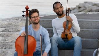 Jonathan Faulhaber und Renato Wiedemann alias Steiner Duo. zvg