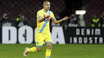 Gökhan Inler traf für Napoli zum 1:1-Ausgleich