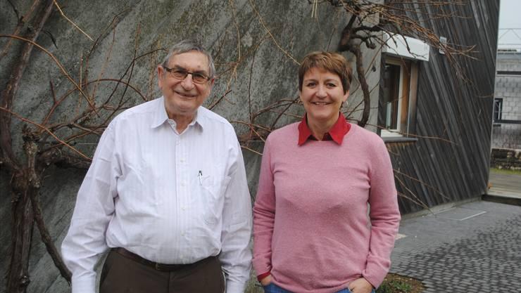 Rolf Beyeler ist seit der Gründung Vorstandsmitglied, Marisa Thöni ist die aktuelle Präsidentin des Vereins.