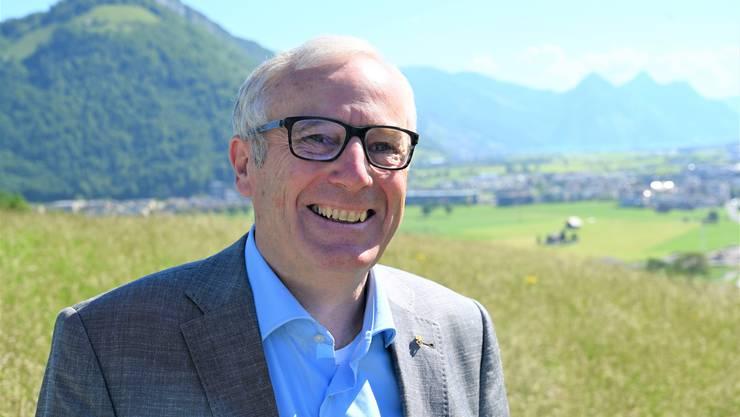 Alois Bissig (62, Bild) fordert den einzigen Nidwaldner Nationalrat Peter Keller von der SVP heraus. Der CVP-Politiker aus Ennetbürgen will stille Wahlen verhindern.