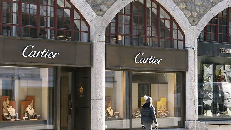 Der Luxusgüterkonzern Richemont hat im Weihnachtsquartal mit seinen Marken wie Cartier, Piaget oder IWC die Verkäufe gesteigert. (Archivbild)