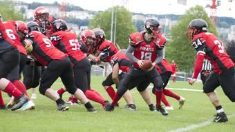 Die Argovia Pirates feierten gegen die Lausanne Owls den zweiten Heimsieg.