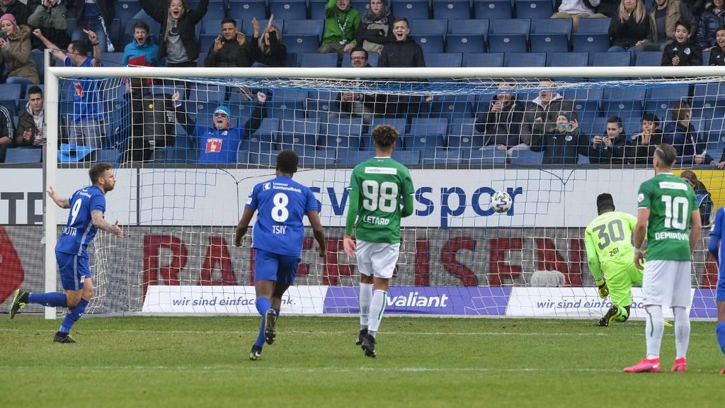 FC Luzern bodigt FC St. Gallen mit 1:0