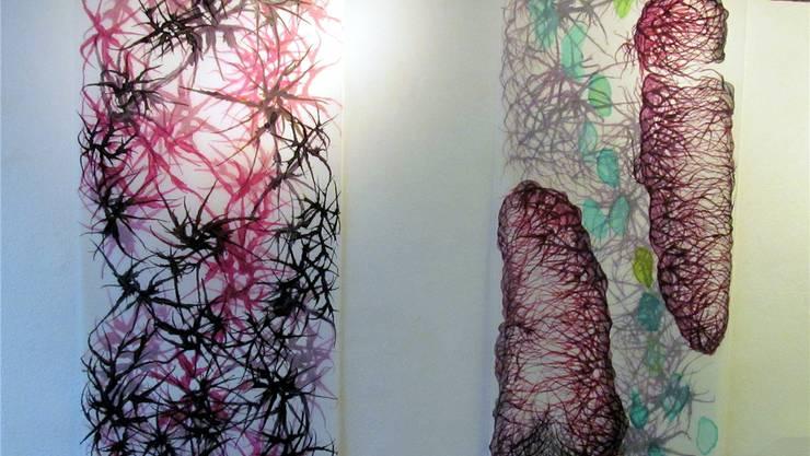 Fraenzi Neuhaus zeigt ihre neuesten Zeichnungen in der Freitagsgalerie in Solothurn.