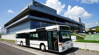 Der az-Wahlkampfbus ist bereit für die 8. Etappe.