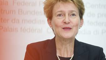 Bundesrätin Sommaruga diskutierte in Luxemburg über die illegale Migration (Archiv)